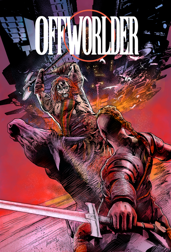 OFFWORLDER by MIKE BARON plus Blood in the Jungle!