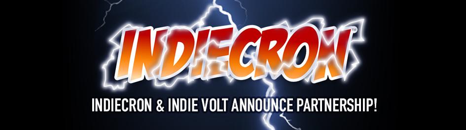 INDIECRON & INDIE VOLT ANNOUNCE PARTNERSHIP!