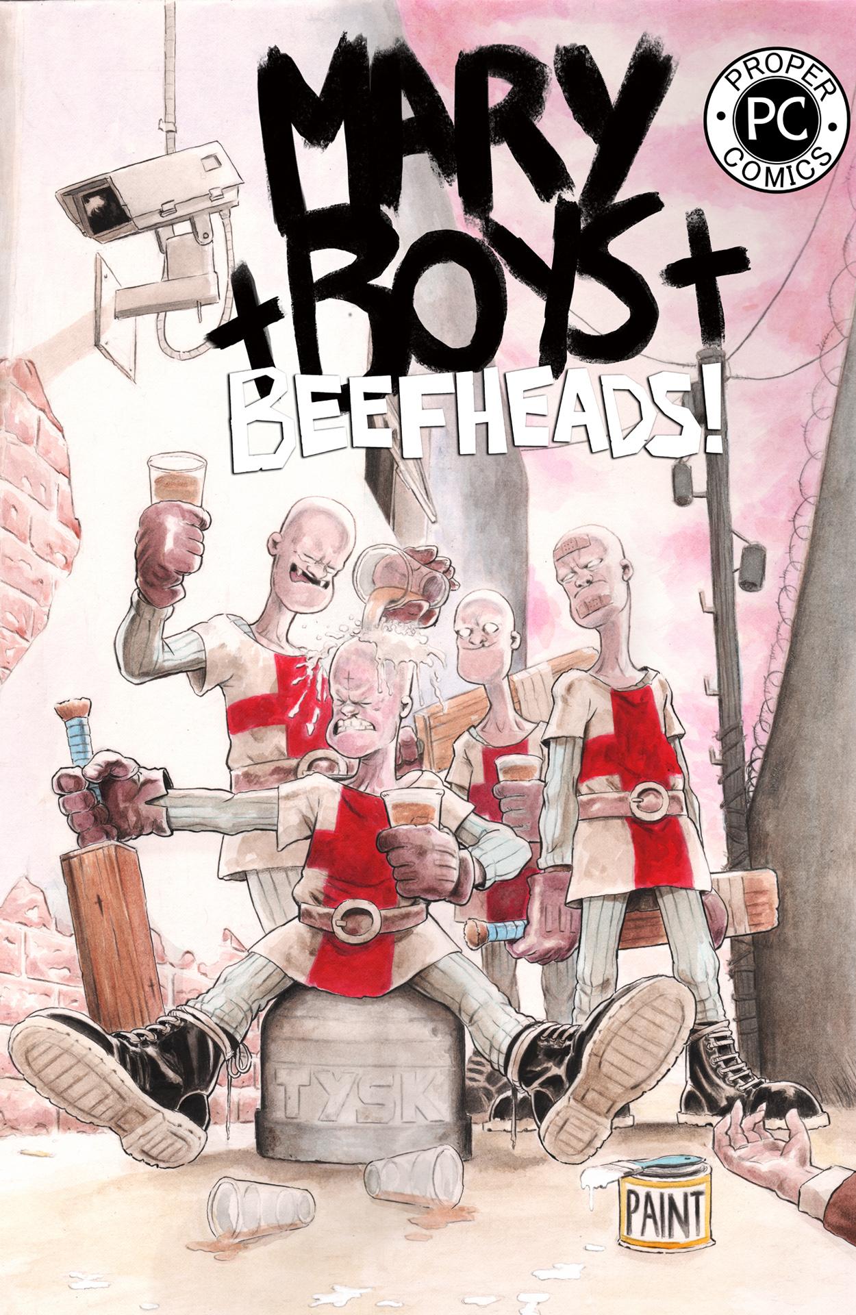 MARY BOYS : BEEFHEADS!
