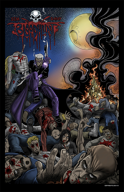 BLOODHUNT Graphic Novel.