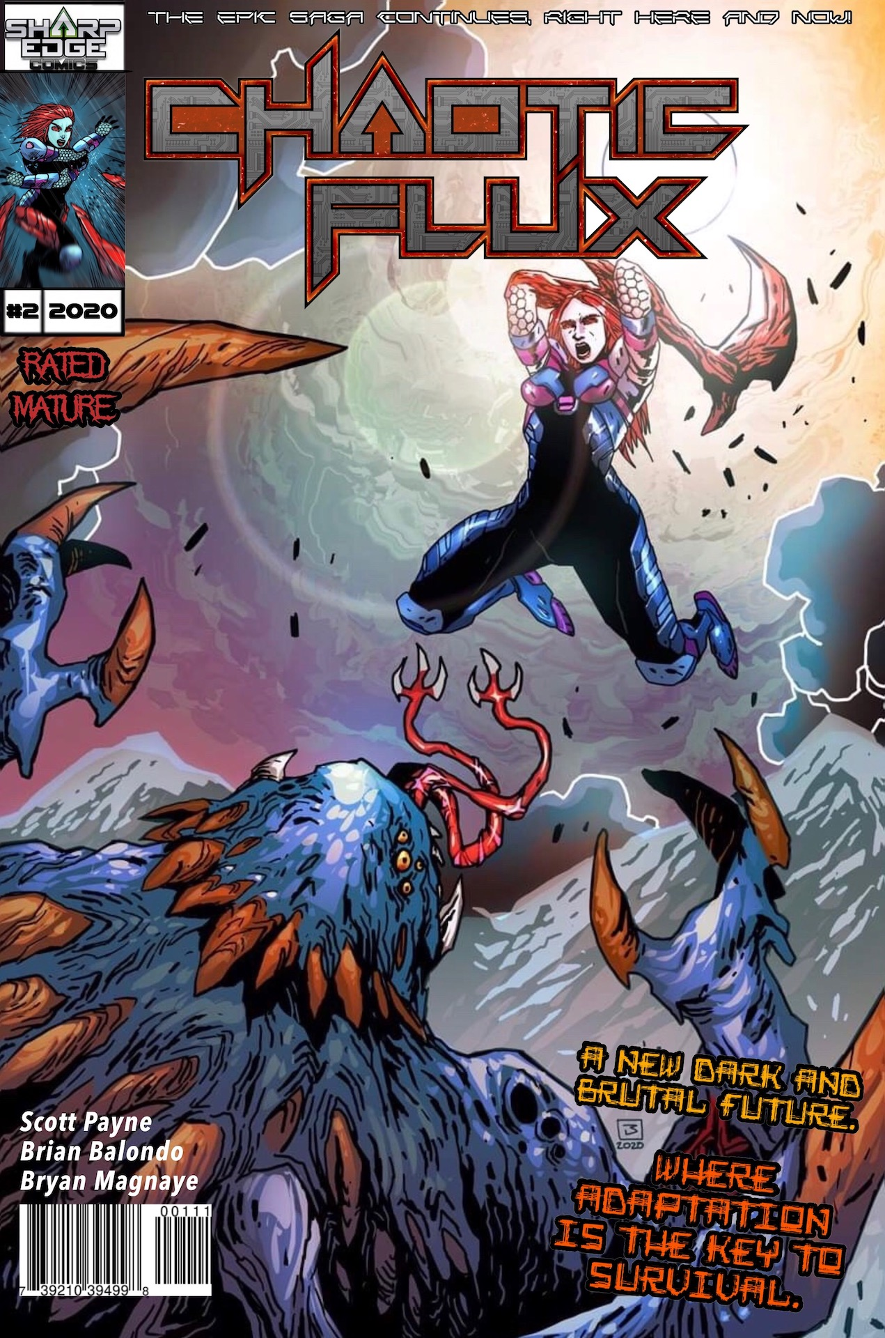 Chaotic Flux issue 2: Aliens vs Monsters part 2