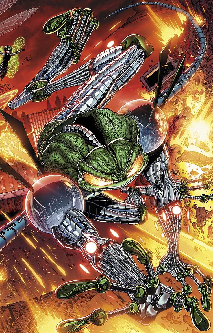 Ethan Van Sciver's CYBERFROG: WARTS AND ALL