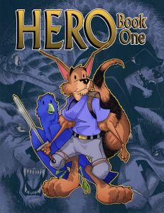HERO Book 1 Full Color Kid Friendly Graphic Novel