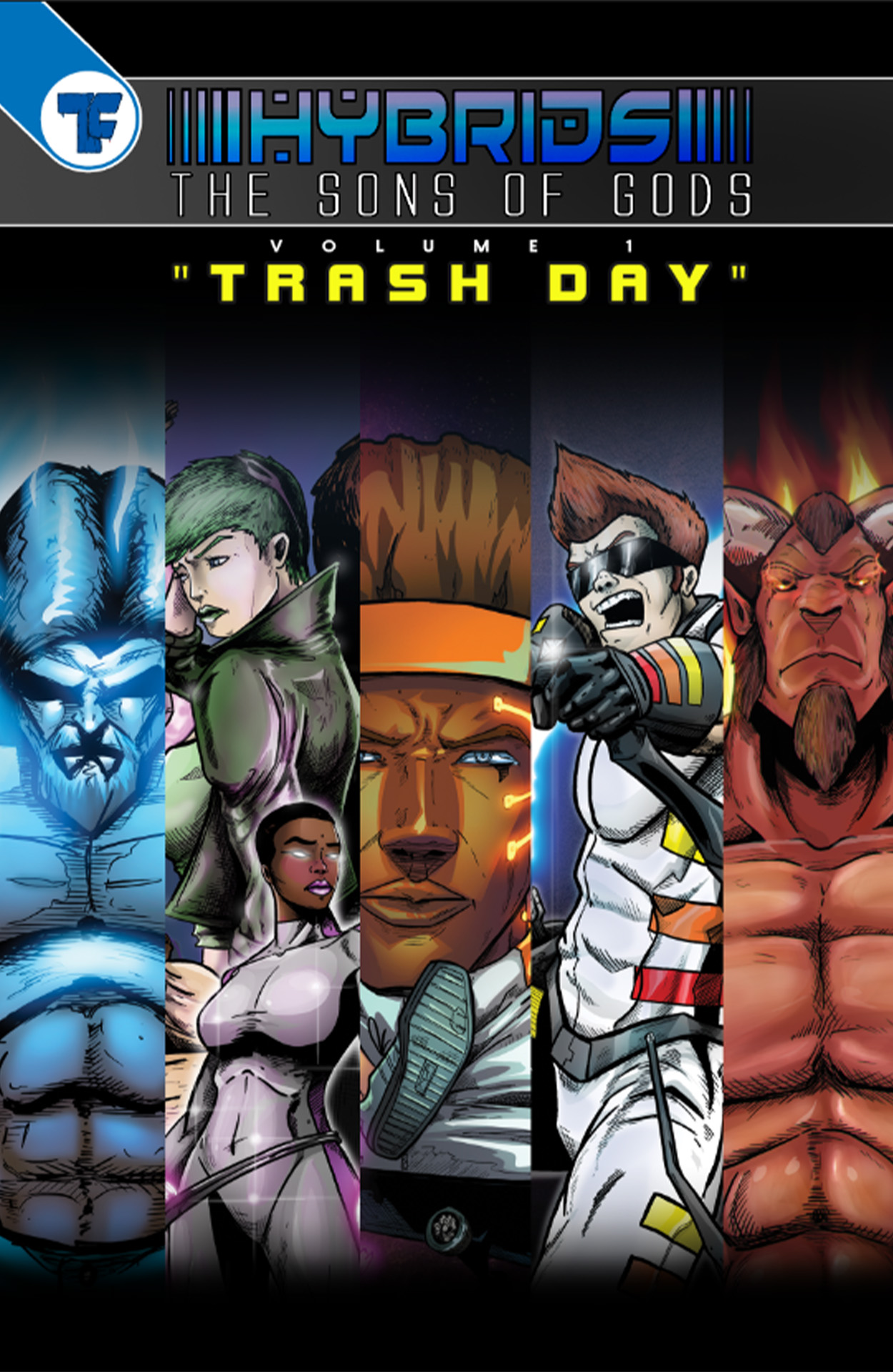 Hybrids: The Sons of Gods-Trash Day Graphic Novel