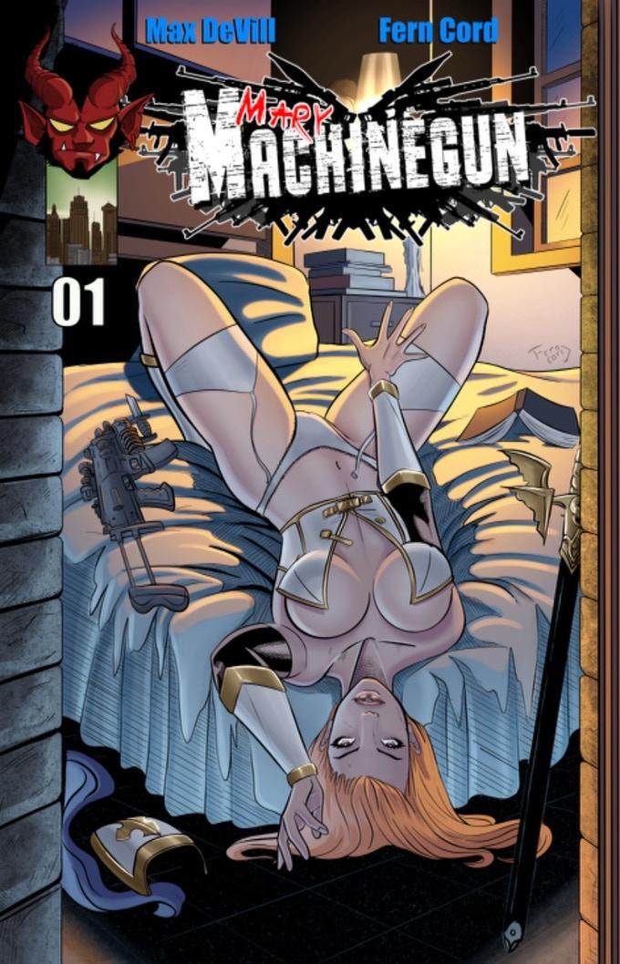 Mary Machinegun Issue 1