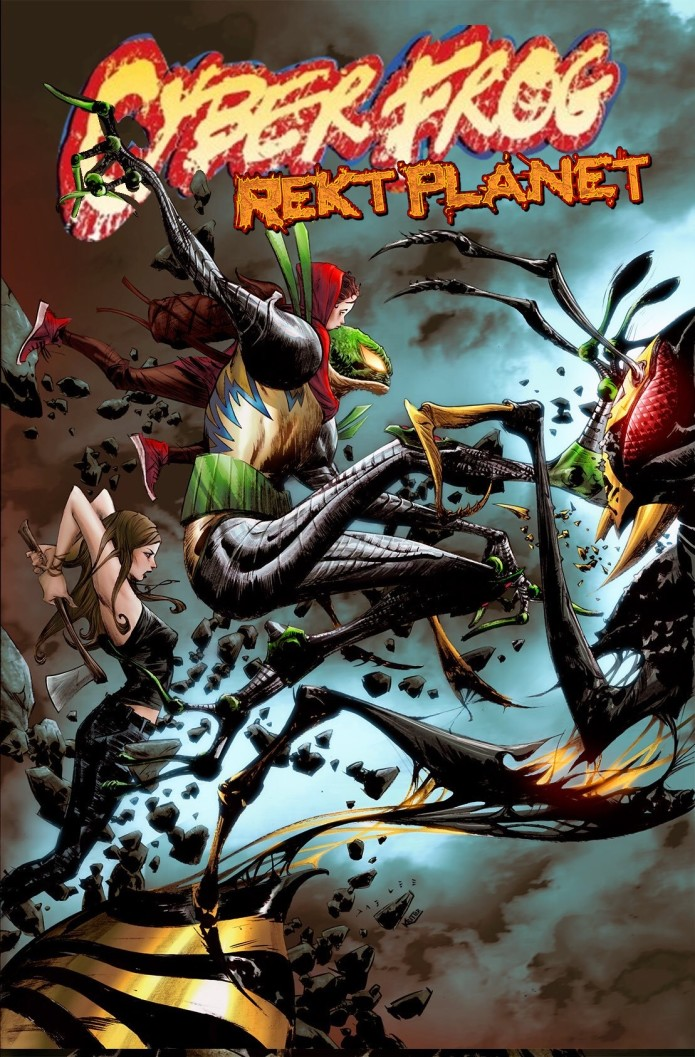 Ethan Van Sciver's CYBERFROG 2: REKT PLANET