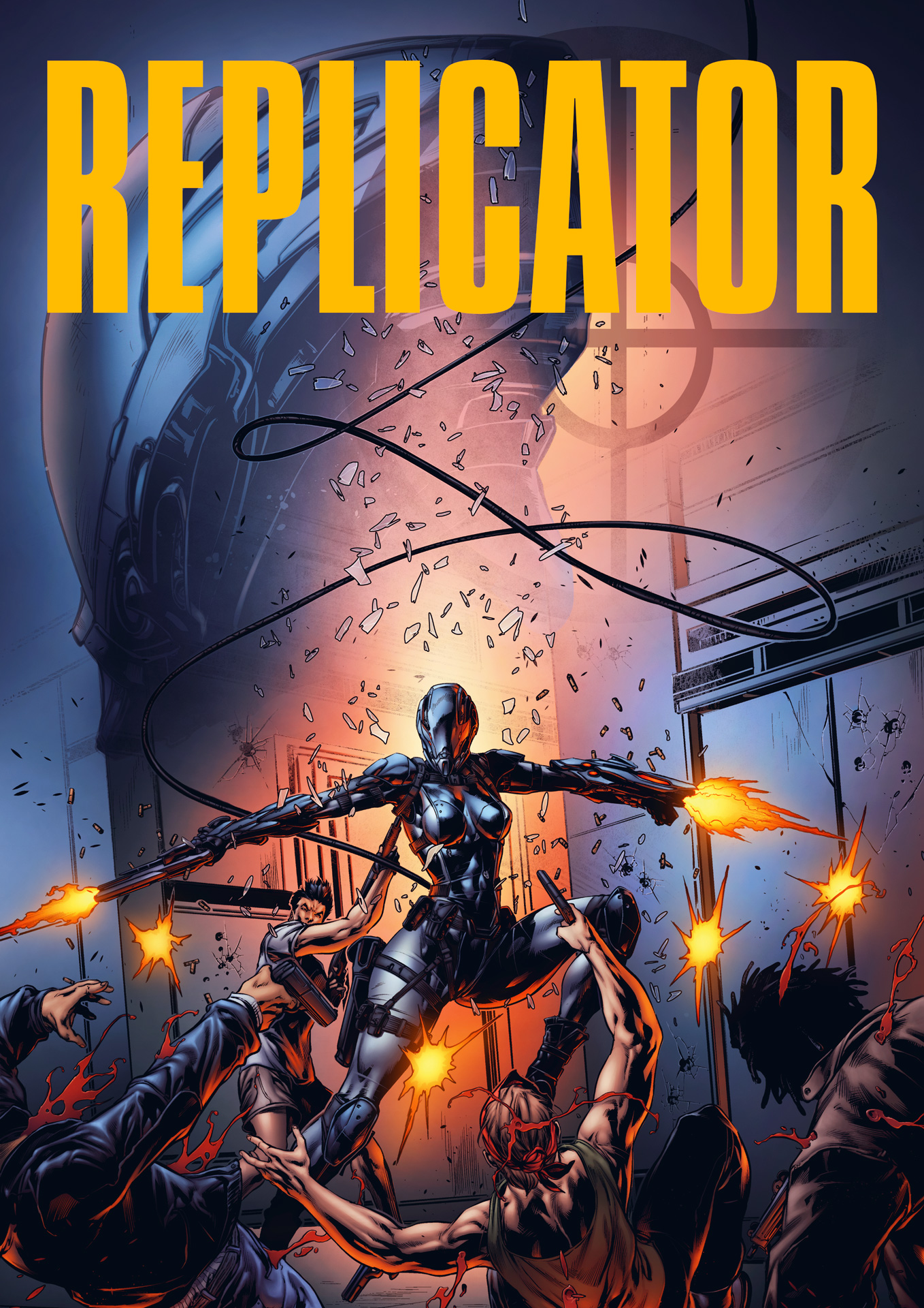 REPLICATOR 3: Mutants vs Machines