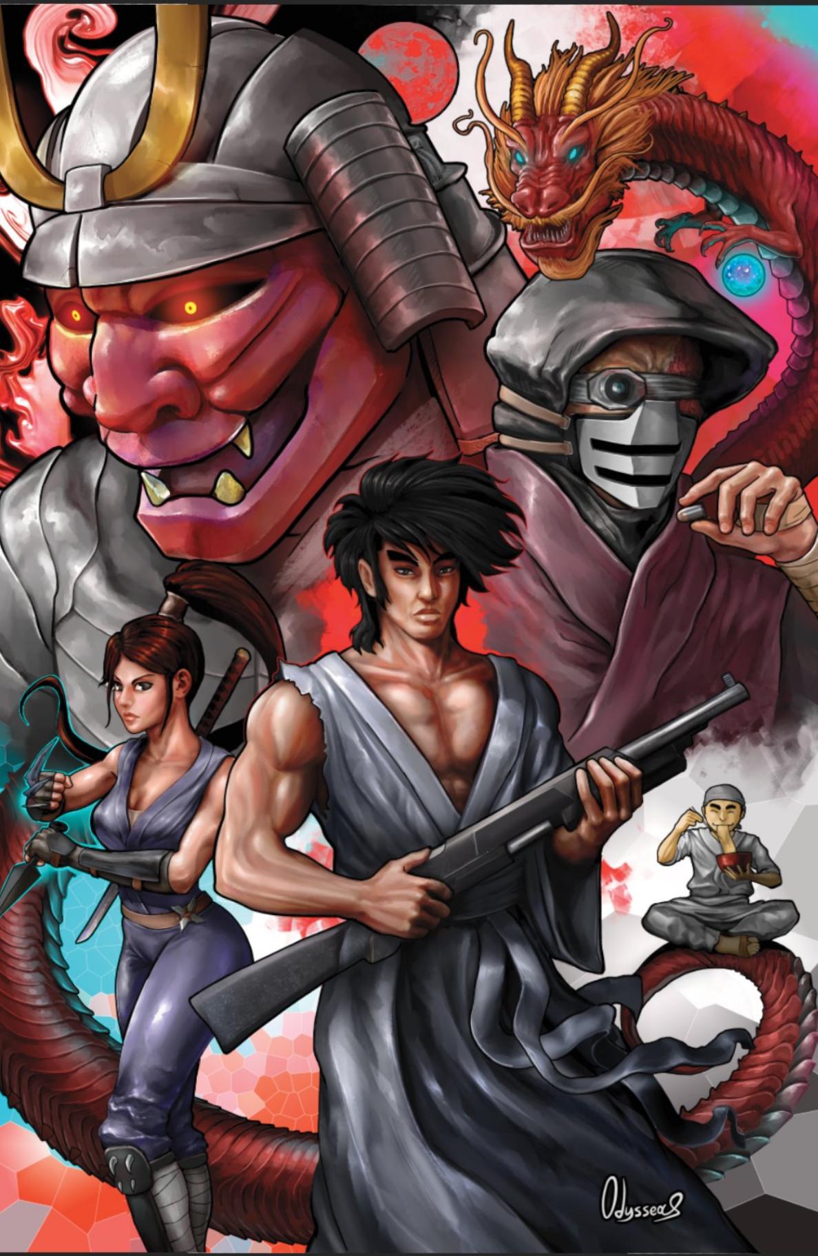 Shotgun Samurai Vol 1