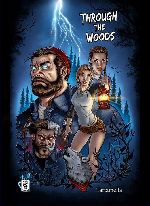 Through the Woods Hardcover Collected Edition!